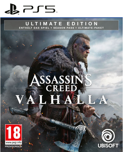 AC  Valhalla  PS-5  Ultimate Edition AT Assassins Creed Valhalla