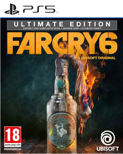 Far Cry 6  PS-5 Ultimate Edition  AT