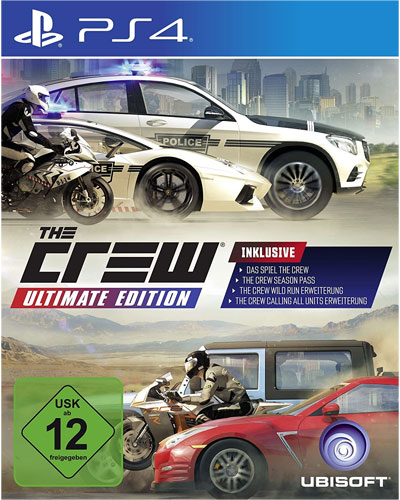 Crew  PS-4  Ultimate Edition