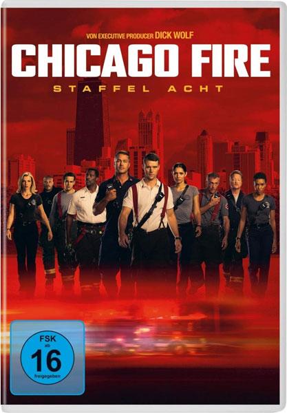 Chicago Fire - Staffel 8 (DVD) 6Disc Min: 900/DD5.1/WS  20 Episoden