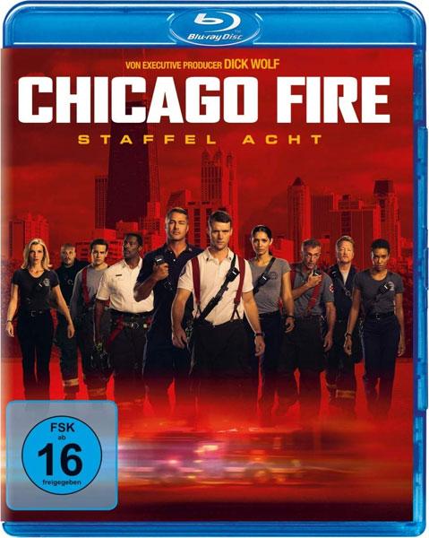 Chicago Fire - Staffel 8 (BR)  6Disc Min: 900/DD5.1/WS  20 Episoden