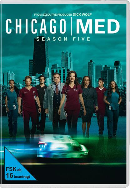 Chicago Med - Staffel #5 (DVD) 6DVDs Min: 960/DD5.1/WS