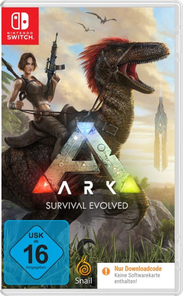 Ark Survival Evolved  SWITCH  (CiaB) Code in a Box