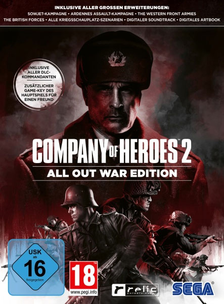 Company of Heroes 2  PC  All Out War Ed.