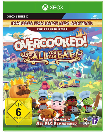 Overcooked all you can Eat  XBXS