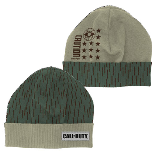 MERC CoD CW Beanie Double Agent Call of Duty Cold War
