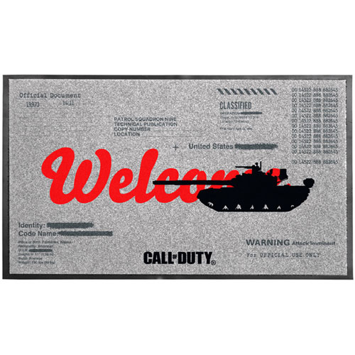 MERC CoD CW Türmatte Welcome Call of Duty Cold War