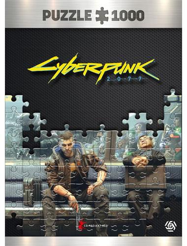 Puzzle Cyberpunk 2077 Metro 1000 Teile
