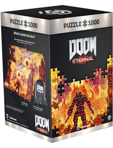 Puzzle Doom Eternal Mykir 1000 Teile