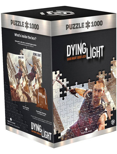 Puzzle Dying Light 1 Crane fight 1000 Teile