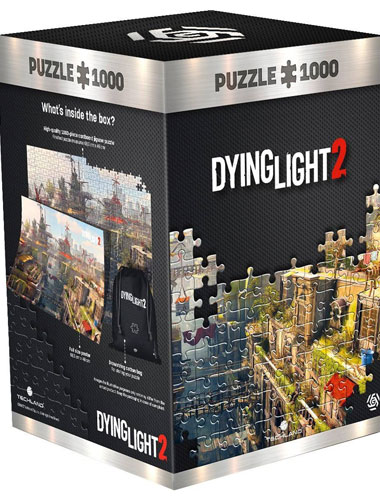 Puzzle Dying Light 2 City 1000 Teile