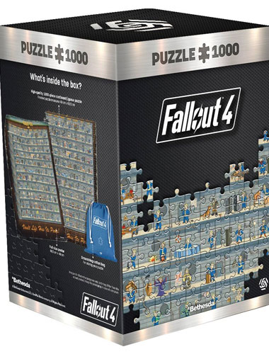Puzzle Fallout 4 Perk Poster 1000 Teile