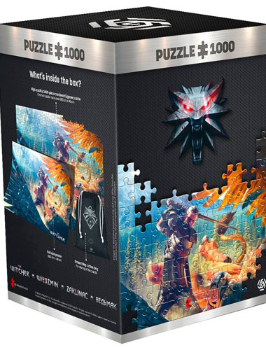 Puzzle Witcher Griffin Fight 1000 Teile