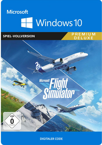 Flight Simulator  PIN  PREMIUM DELUXE