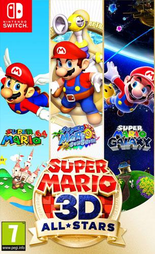 Super Mario 3D All-Stars  SWITCH  UK multi