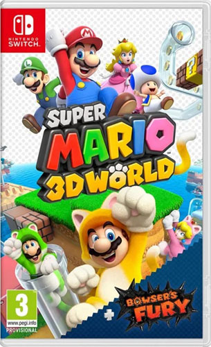 Super Mario 3D World  SWITCH  UK + Bowsers Fury   multi
