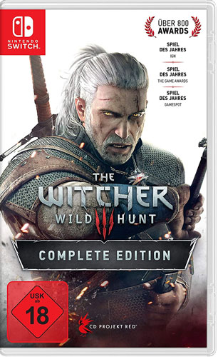 Witcher 3  Switch  Wild Hunt  Light Ed. Complete Edition  DE/ENG