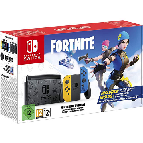 Switch   Konsole Fortnite S.E. Game vorinstalliert  limitiert