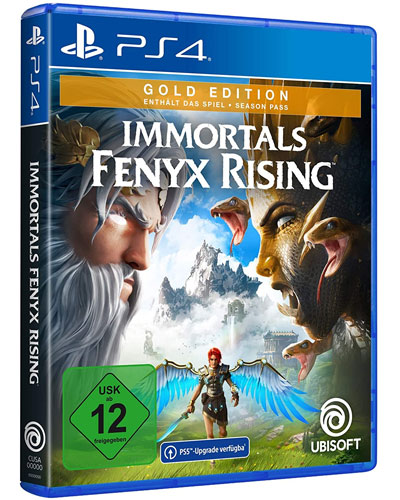 Immortals Fenyx Rising  PS-4  Gold Free upgrade to PS5