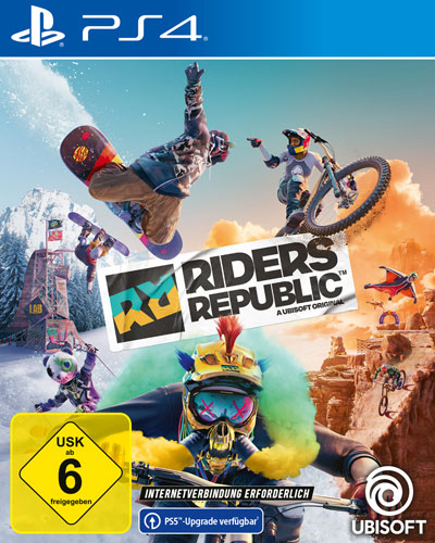 Riders Republic  PS-4 Free upgrade to PS-5