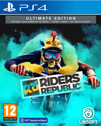 Riders Republic  PS-4  Ultimate  AT Free upgrade to PS-5