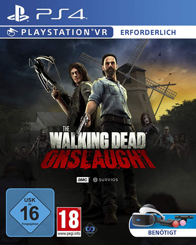 VR Walking Dead Onslaught  PS-4