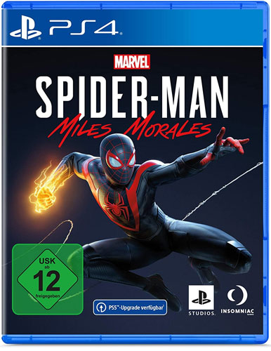 Spiderman Miles Morales  PS-4