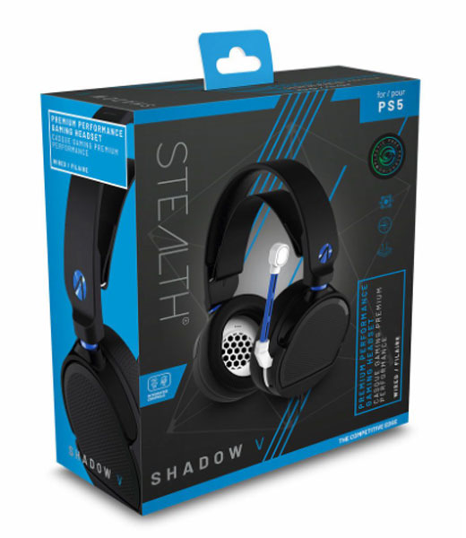 PS5 Headset Shadow V  black STEALTH