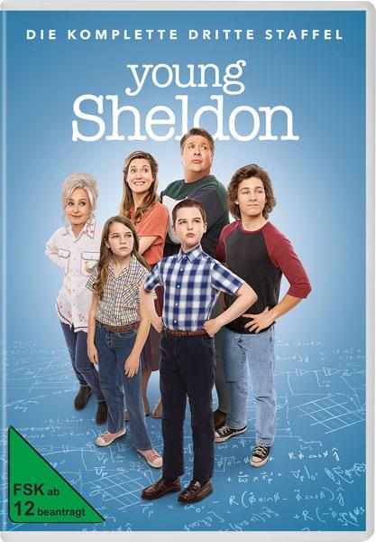 Young Sheldon - Staffel 3 (DVD) 2Disc