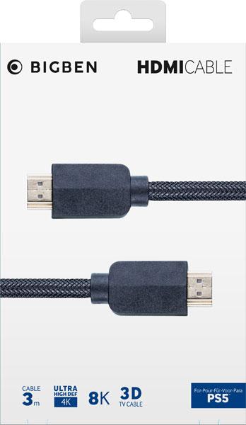 PS5 HDMI Kabel 2.1  8K 3m BIGBEN