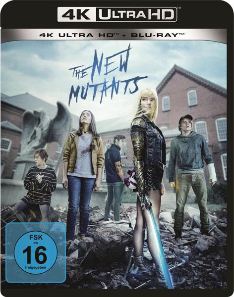 New Mutants, The (UHD+BR)  2Disc Min: 94/DD5.1/WS  4K Ultra