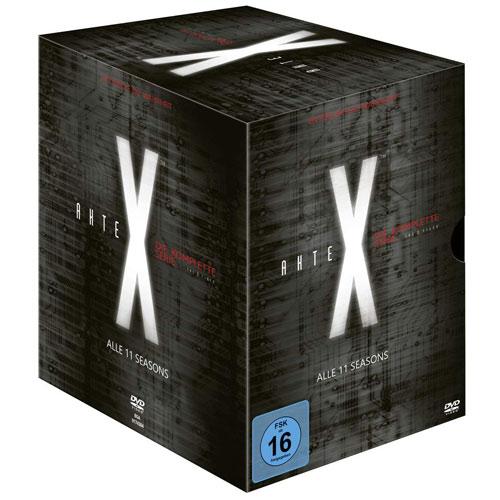 Akte X - Komplette BOX (DVD) 59 Disc Min: 9317/DD/WS  Staffel 01-11