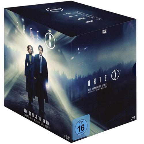 Akte X - Komplette BOX (BR) 60 Disc Min: 9743/DD/WS  Staffel 01-11