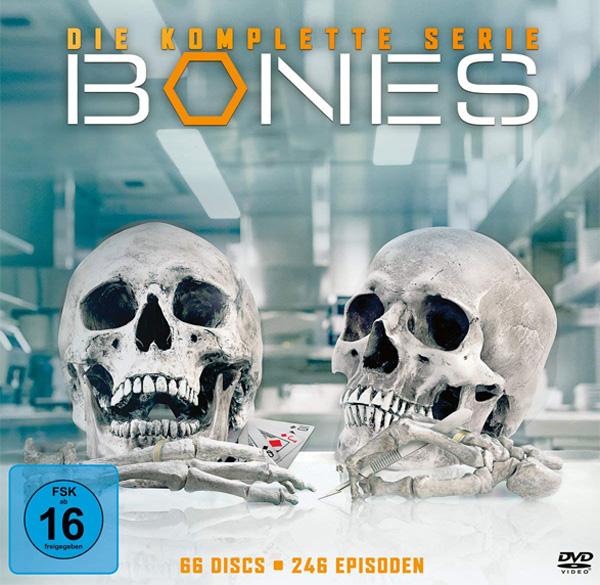 Bones - Komplette BOX (DVD) 66 Disc Min: 8760/DD/WS   Staffel 01-12
