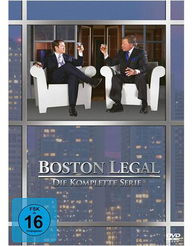 Boston Legal - Komplette BOX (DVD) 27DVD Min: 4020/DD/WS  Staffel 1-5, Neuauflage