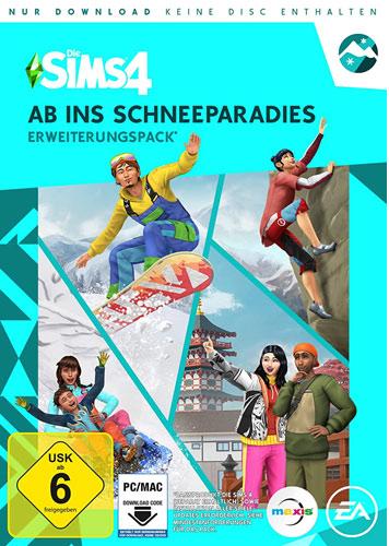 Sims 4  PC  Addon  Ab ins Schneeparadies Snowy Escape EP 10