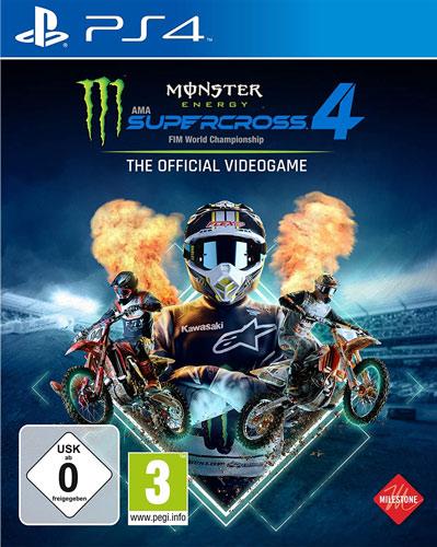 Monster Energy Supercross 4  PS-4