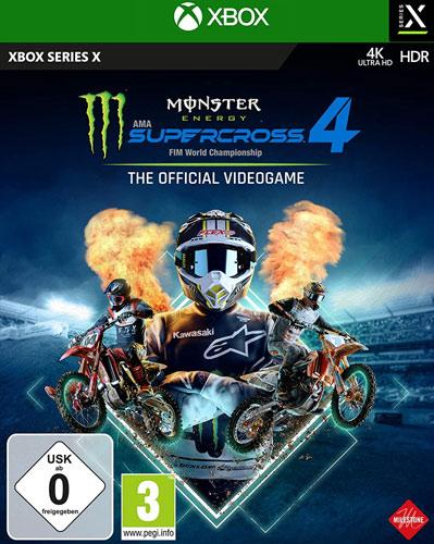 Monster Energy Supercross 4  XBSX