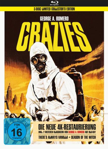 George A. Romero's Crazies (BR) LE -MB- 3Disc Limited Collectors Ed.im Mediabook
