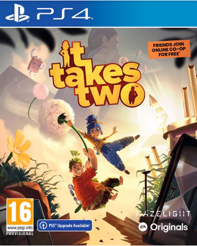 It Takes Two  PS-4  AT PS5 Enhanced inklusive