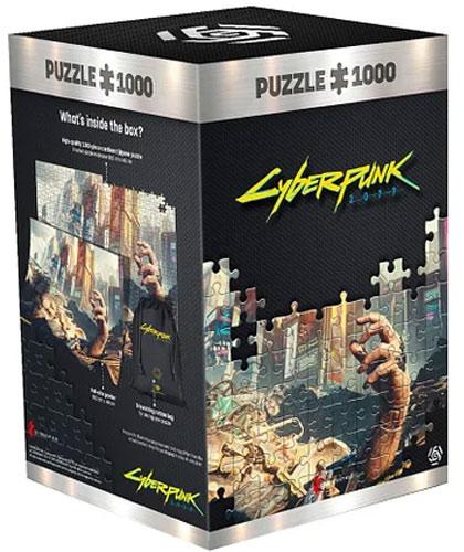 Puzzle Cyberpunk 2077 Trümmerhand 1000 Teile