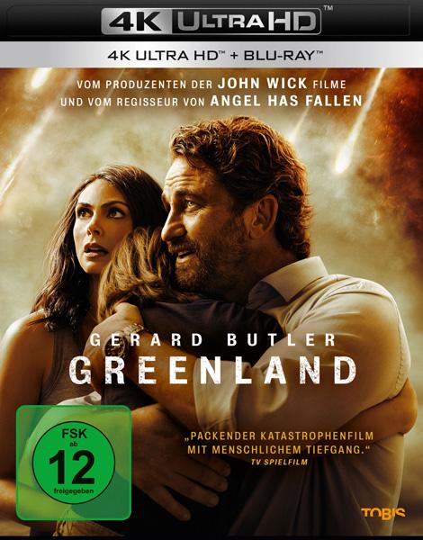 Greenland (UHD+BR) 2Disc, 4K Min: 125/DD5.1/WS