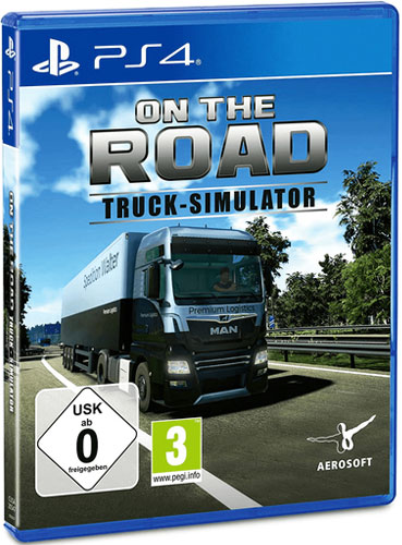 Truck Simulator On the Road  PS-4 LKW