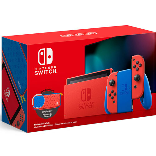 Switch   Konsole Mario Red & Blue limitiert  AUSVERKAUFT