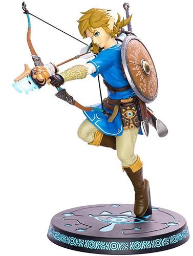 Merc Figur F4F Zelda Link mit Bogen PVC 25cm  BotW