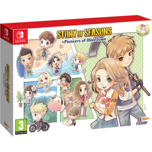 Story of Seasons 2  Switch  UK  C.E. Pioneers of Olive Town