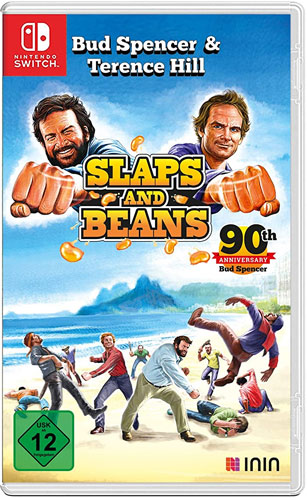 Bud Spencer & Terence Hill  Switch NEU Slaps and Beans Anniversary Ed.