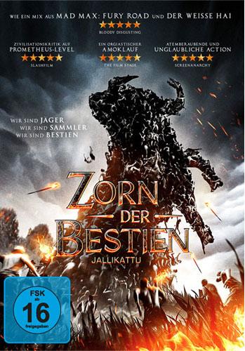 Zorn der Bestien - Jallikattu (DVD)VL Min: 92/DD5.1/WS