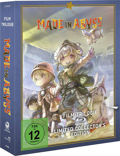 Made in Abyss - Film Trilogie (BR) LCE LIMITED COLLECTOR'S EDITION