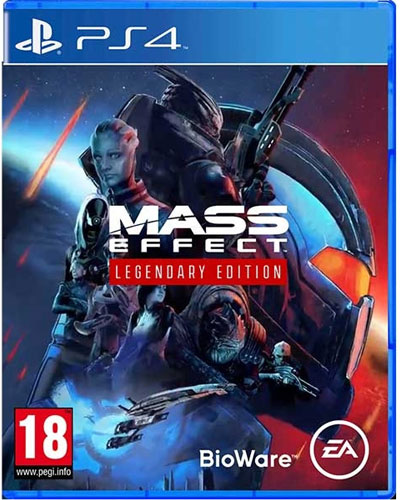 Mass Effect Legendary Edition  PS-4  AT